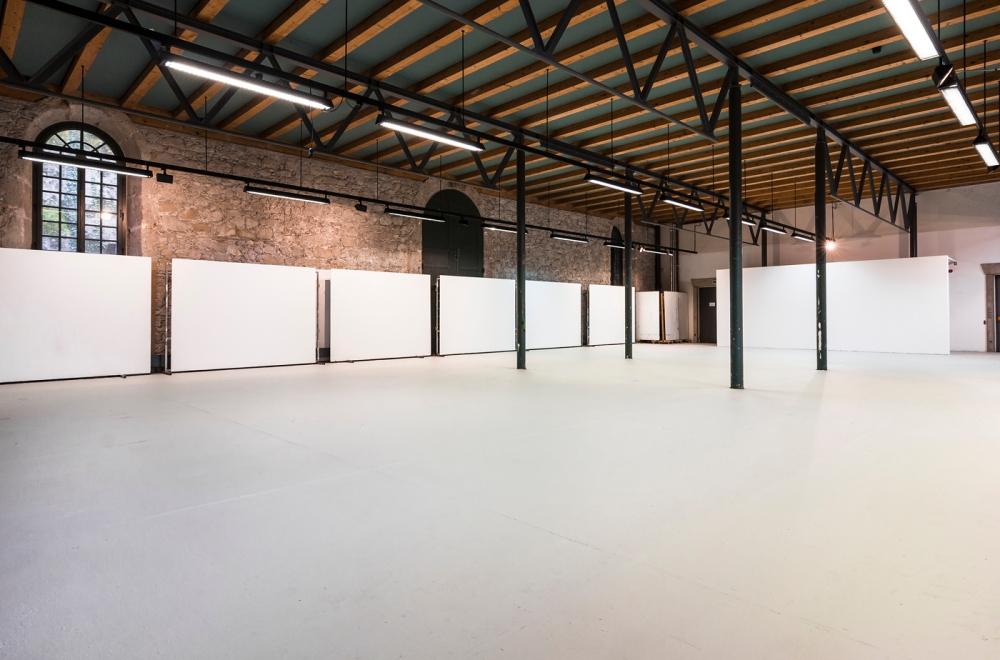 Unteres Atelier Kunstakademie Bad Reichenhall 2018